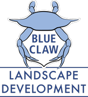 Logo for Blue Claw Landscape Development